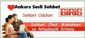 Ankara Sesli Sohbet