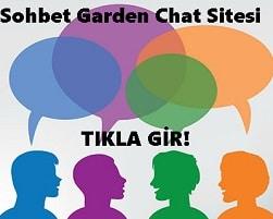 Sohbet Garden Chat Sitesi