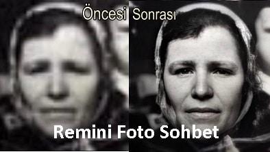 Remini Foto Sohbet